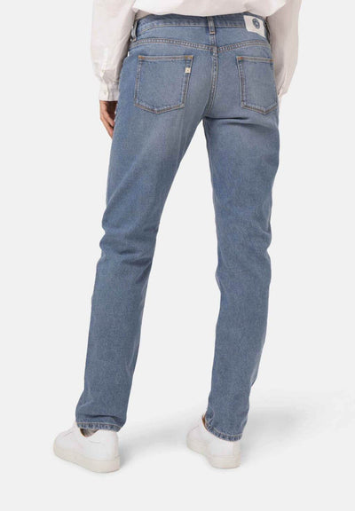 Heavy Stone Fave Straight Jeans - MUD Jeans | Ecoture