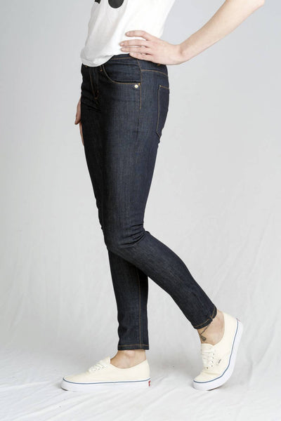 Pure Blue Silhouette Skinny Jeans - Monkee Genes | Ecoture