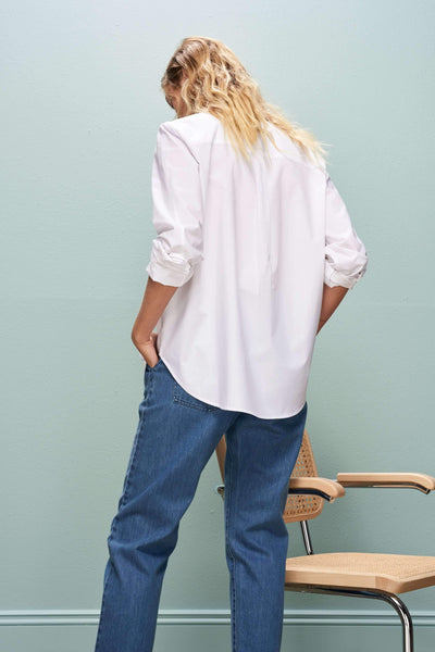 White Loft Shirt - Kowtow | Ecoture