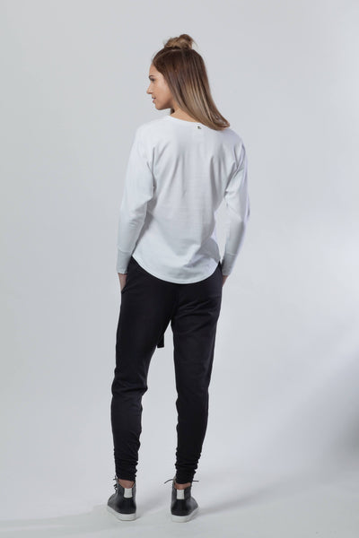 White Reflect V Tee - ReCreate | Ecoture