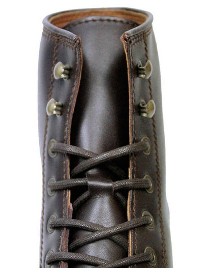 Dark Brown Faux Leather Men's Strider Boot - Will's Vegan Shoes & Accessories Co. | Ecoture