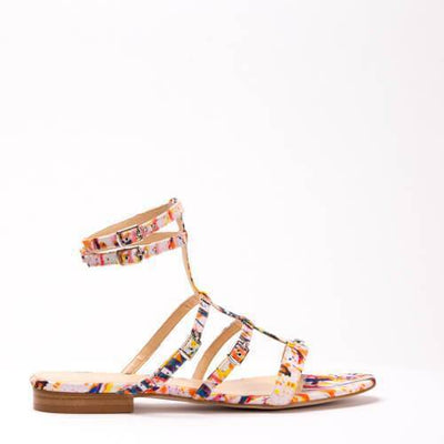 Multi-Coloured Plage Sandal - Love Sofie | Ecoture