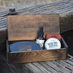 Basic Beardsman Kit - Dark Brown - Beardsman Supply, LLC