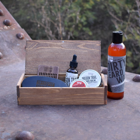 Full Beardsman Kit - Light Brown - Beardsman Supply, LLC