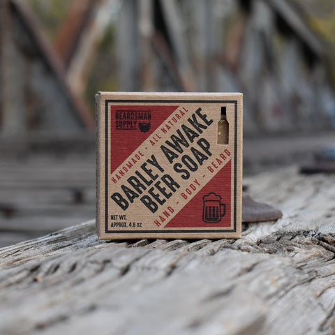 Barley Awake Beer Soap - Beardsman Supply, LLC