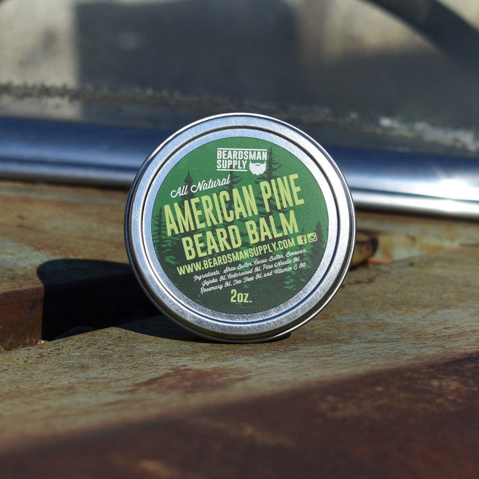 American Pine Beard Balm - Beardsman Supply, LLC