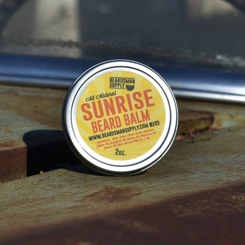Sunrise Beard Balm - Beardsman Supply, LLC