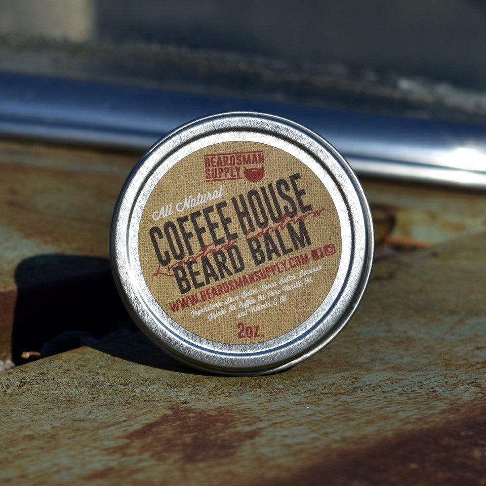 Limited Edition Coffee House Beard Balm - Beardsman Supply, LLC