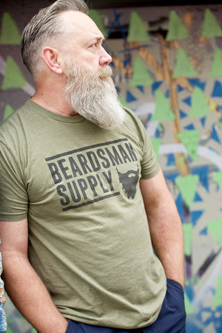 Men's/Unisex Logo T-Shirt - Beardsman Supply, LLC