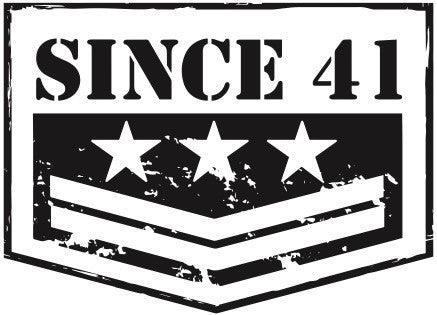 SINCE41  White Large Size Decal
