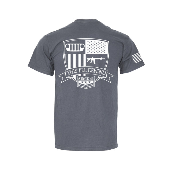 This I'll Defend - Retro Pocket T-Shirt