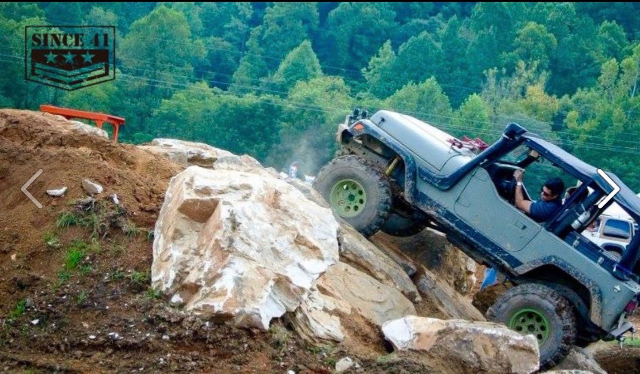 JeepFest Trails