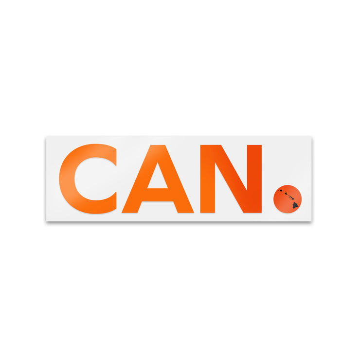 "CAN. brand Sticker  3"",5"",7"""