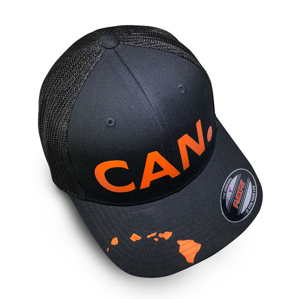 CAN. Black trucker cap