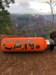 "Camo CAN. Sticker 3"", 5"", 7"""