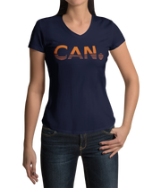 Navy V Neck T-shirt