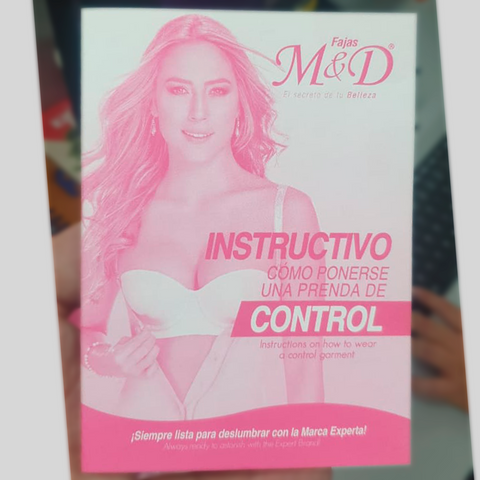 Fajas MYD Instructional Brochure