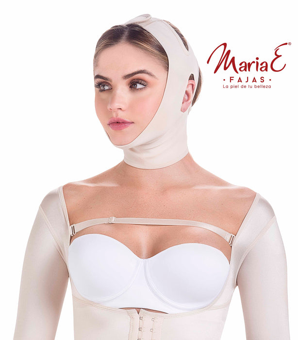 MariaE Fajas 9010 Compression Chin Strap for Women / Mentonera