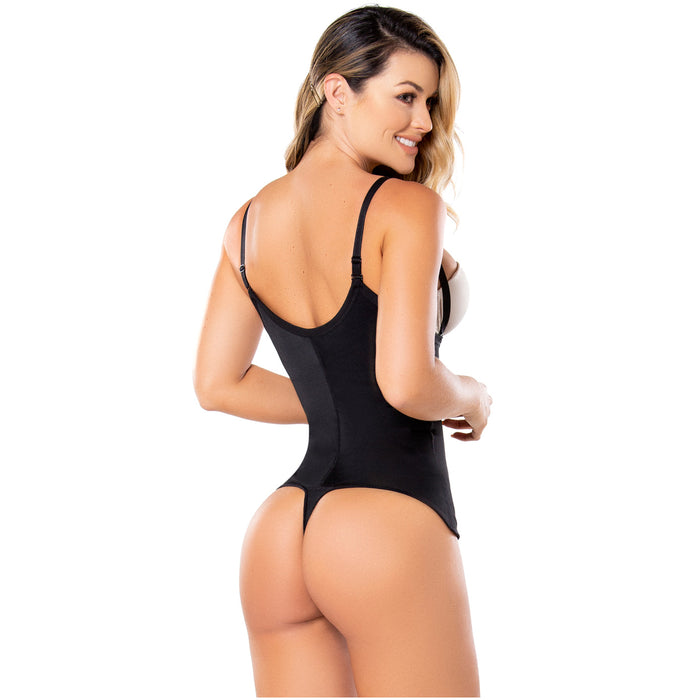 Diane & Geordi 002376 Women's Strapless Thong Body Shaper / Latex - Pal Negocio
