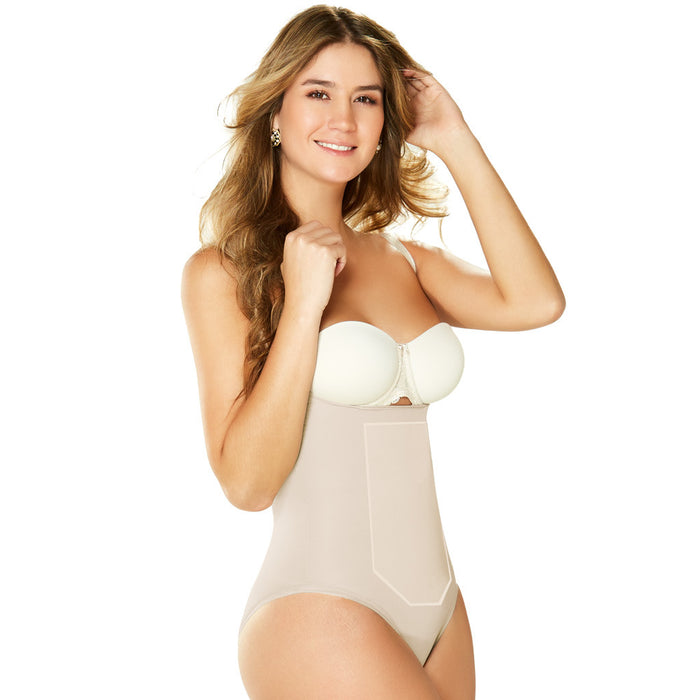 Diane & Geordi 2352 Tummy Control Shapewear Bodysuit Strapless / Latex - Pal Negocio