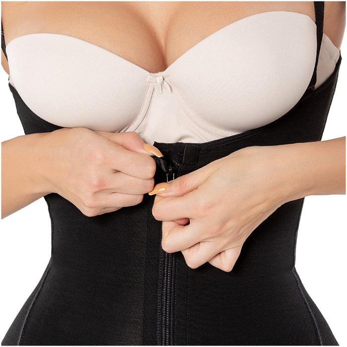 Diane & Geordi 2395 |  Capri Tummy Control Butt Lifter Shapewear | Colombian Postpartum Girdle / Powernet