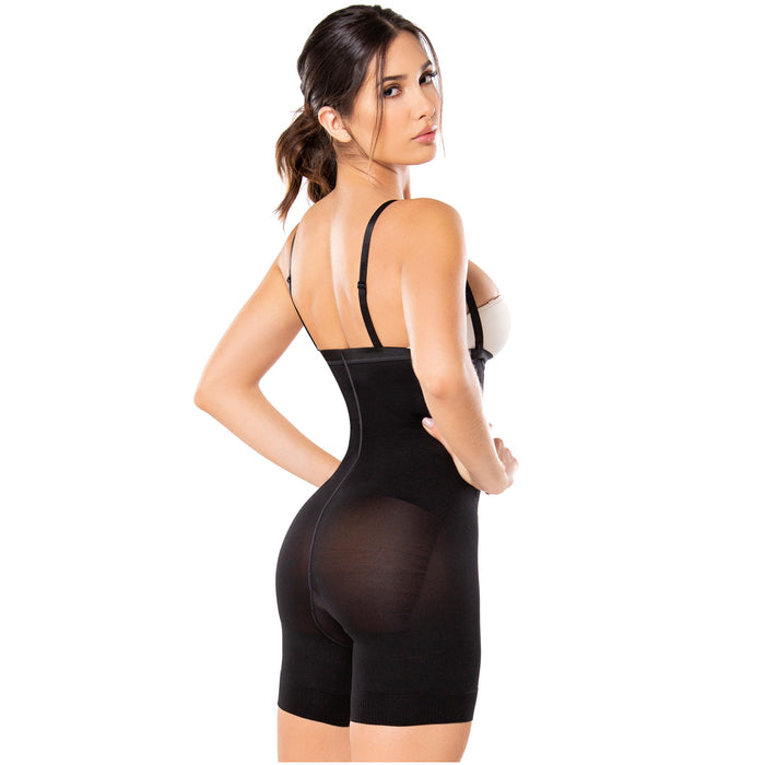 Diane & Geordi 2831 | Tummy Control Butt Lifting Shapewear for Women | Strapless and Backless 6 Pack