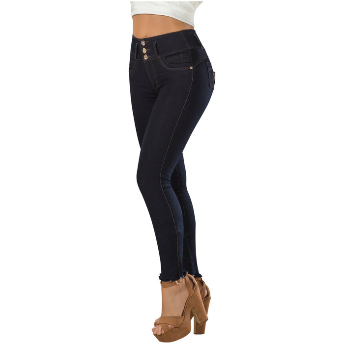 DRAXY 1321 Colombian Mid Rise Skinny Jeans - Pal Negocio