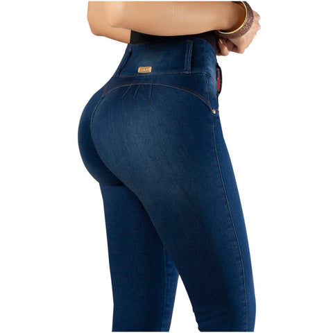 DRAXY 1322 Women Colombian Butt lifter Skinny Jeans - Pal Negocio