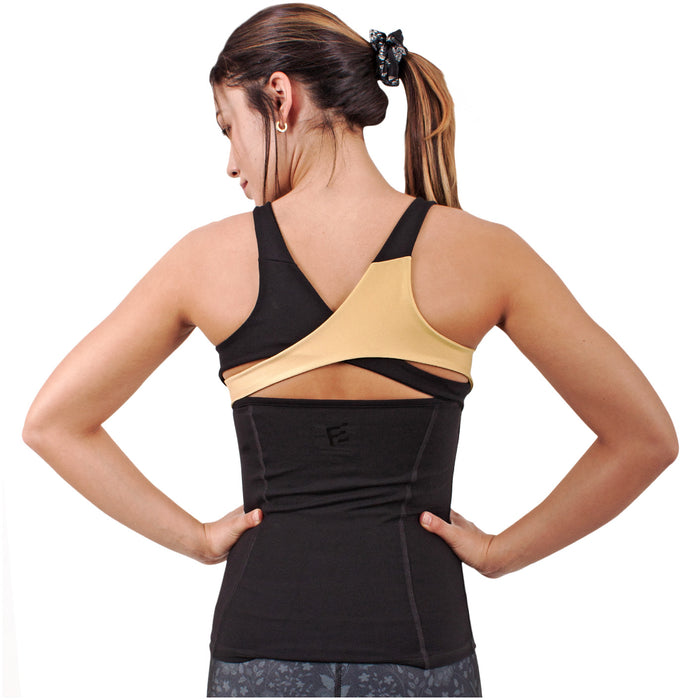 FLEXMEE 904001 Luxury Halter Racerback Top | Supplex 360 - Pal Negocio