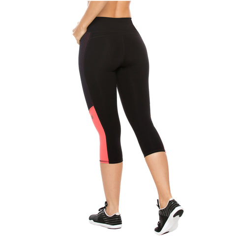 Flexmee 944101 Mid Rise Capri Leggings for Women | Supplex - Pal Negocio