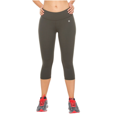 Flexmee 944201 Mid Rise Capri Leggings for Women | Polyamide - Pal Negocio
