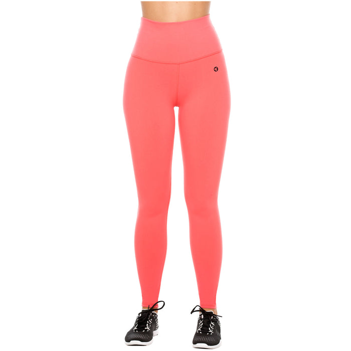 Flexmee 946003 High Waisted Tummy Control Gym Leggings for Women | Supplex - Pal Negocio