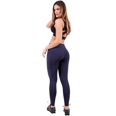 FLX Activewear 946066 Active Tummy Control Leggings for Women | Lycra - Pal Negocio