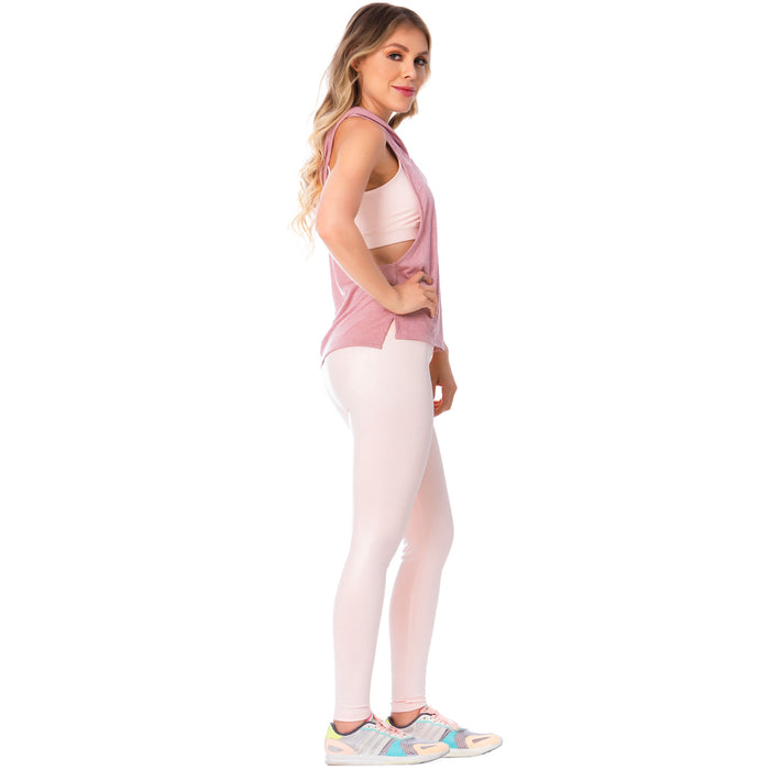 FLEXMEE Sportwear/Leggings 946164 2020-1 Spring Summer Collection Color Shiny Pink