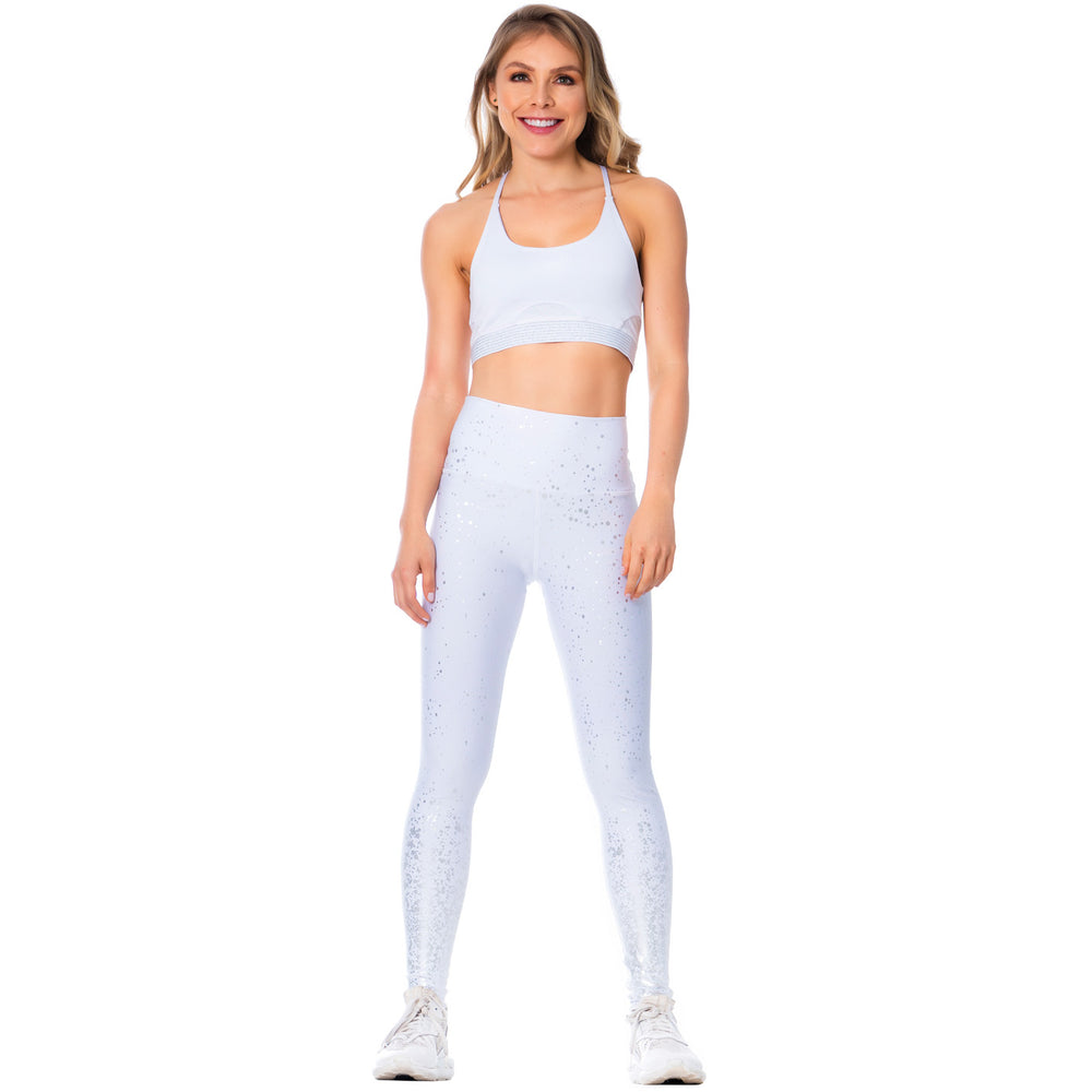 FLEXMEE Sportwear-Legging 946167 2020-1 Spring Summer Collection Color White