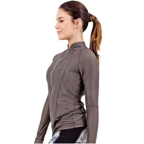 FLEXMEE 980004 Marble Mesh Jacket With Thumb Hole | Nylon - Pal Negocio
