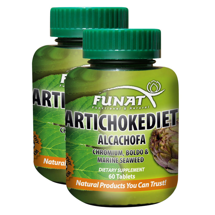 Funat Artichoke Tablets Dietary Supplement - Pal Negocio