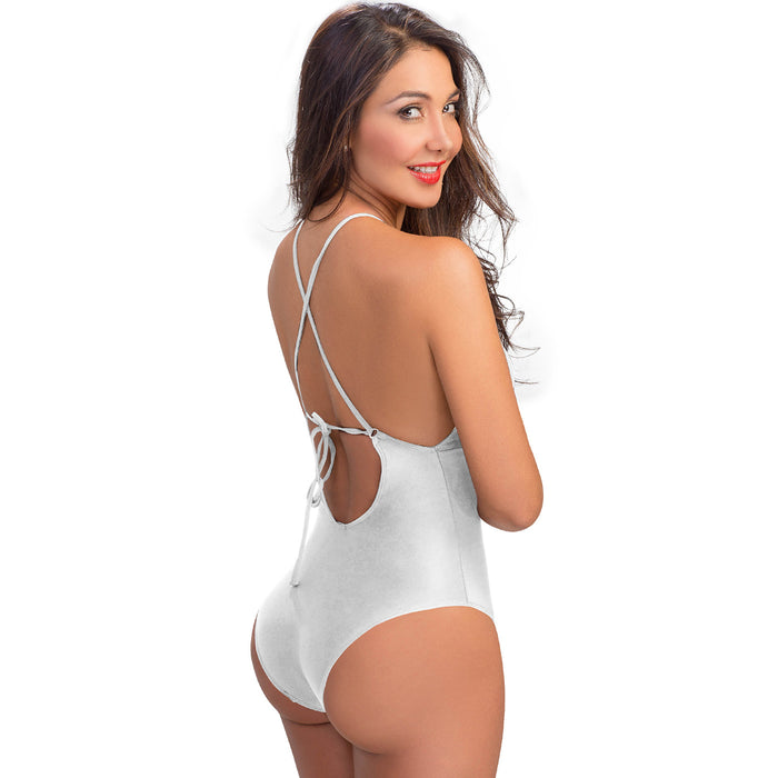 Lowla 1202 | Slimming One-piece Swimsuit with See-through Details