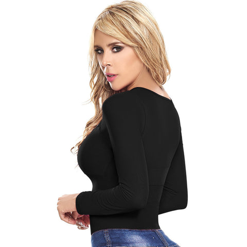 LT. Rose 20831 | Long Sleeves Shaping Bodysuit for Women | Daily Use - Pal Negocio
