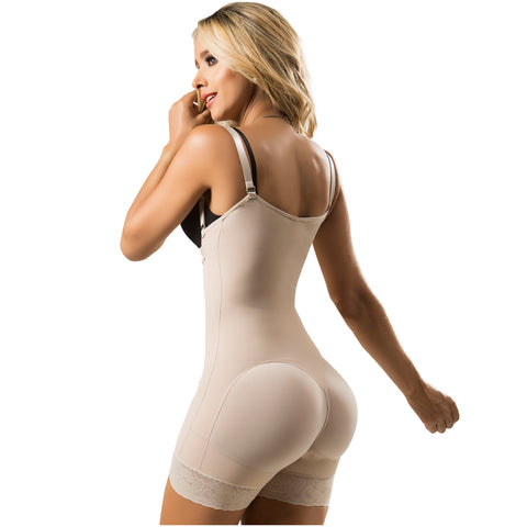 LT. Rose 21113 Open Bust Mid Thighs Butt-Lifting Girdle with Adjustable Straps |  Everyday Use - Pal Negocio