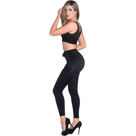 LT. Rose 21231 | High Waist Long Leg Butt-Lifting Shaping Leggings for Women | Daily Use - Pal Negocio