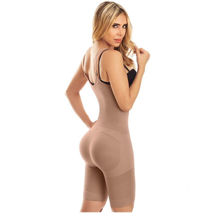 LT.Rose 21427 | Shapewear Bodysuit Thigh Lenght Open Bust Colombian Faja for Women | Daily Use - Pal Negocio