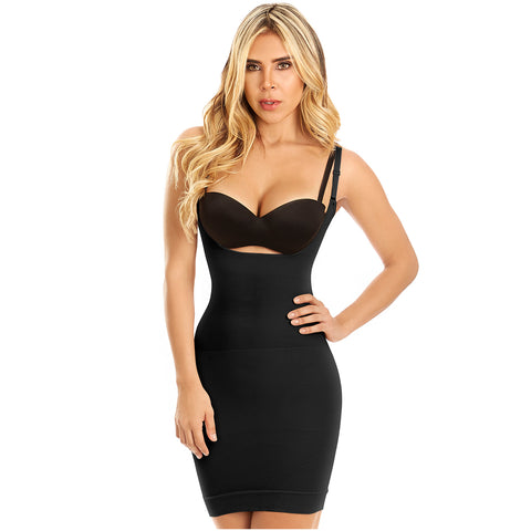 LT. Rose 21701 | Open Bust Shaping Unnoticible Seams Girdle for Women | Dress Nightout - Pal Negocio