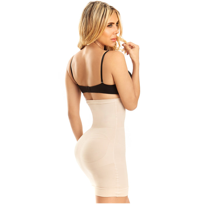 LT. Rose 21702 | Women Dress Night Out Low Back Open Bust High Waist Shapewear Girdle | Daily Use - Pal Negocio