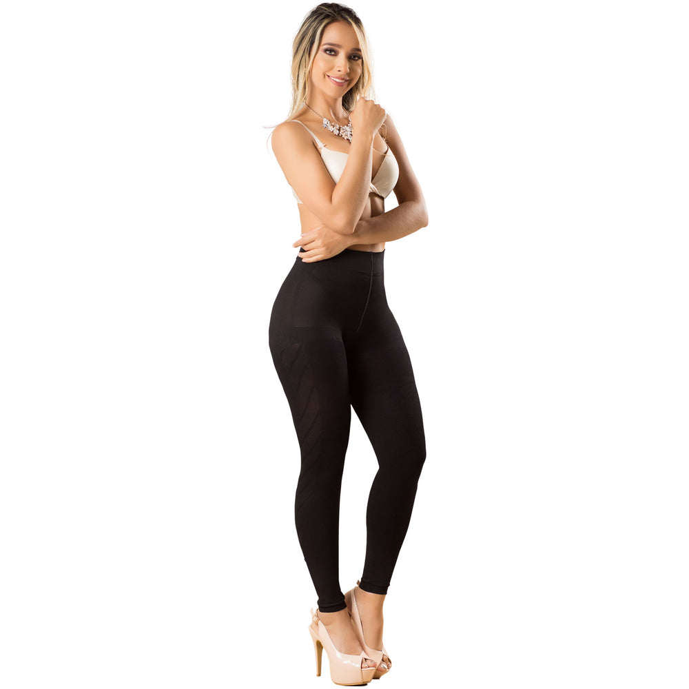 LT.Rose 21831 | High Waist Butt Enhancing Fupa Control Leggings for Women | Daily Use - Pal Negocio