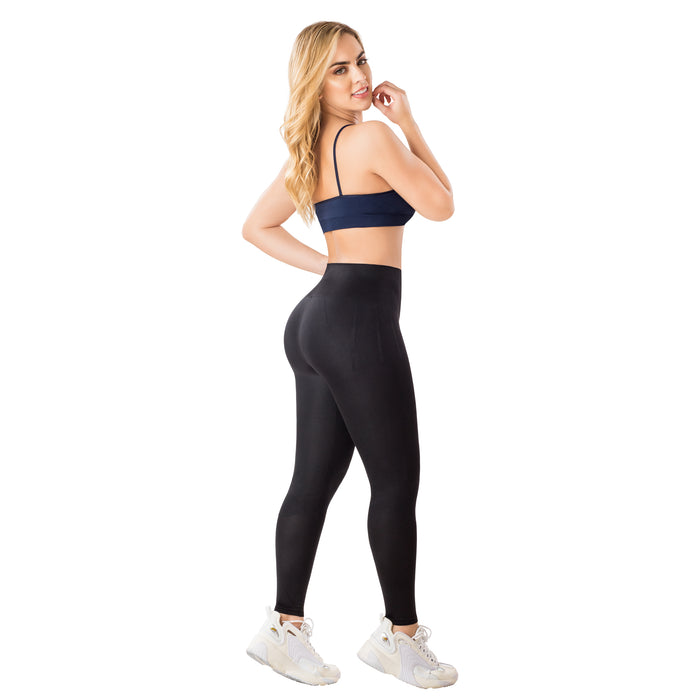 LT. Rose 21838 Butt Lifting High Waisted Sports Leggings for Women