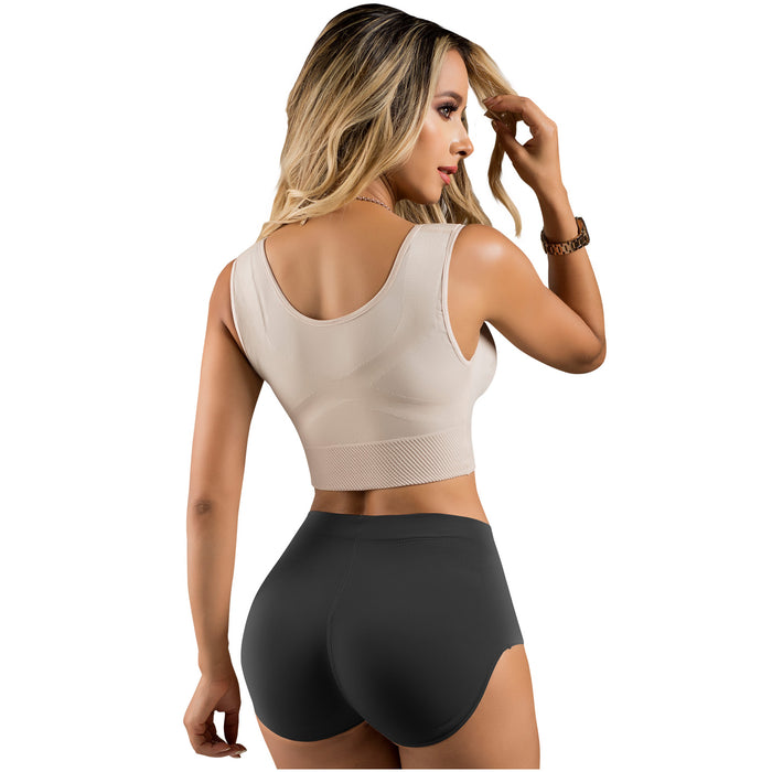 LT.Rose 21896 | High Waist Butt Lifting Panties | Tummy Control Panty for Women Colombian Shapewear | Daily Use - Pal Negocio