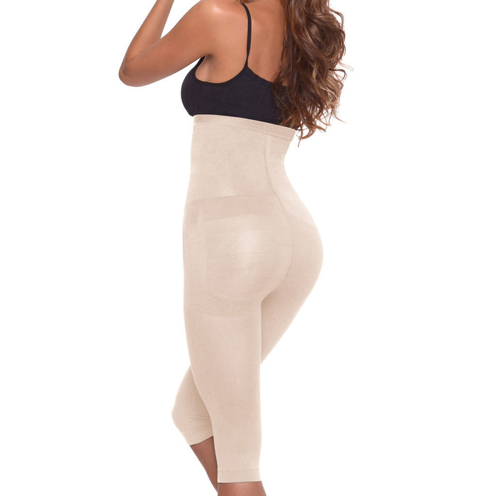 LT.Rose 21998 | High Waist Tummy Control Butt Enhancing Capris for Women | Daily Use - Pal Negocio