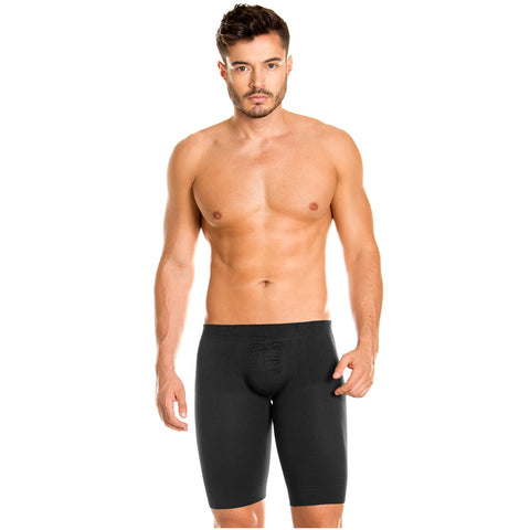 LT.Rose 22996 | Long Shaping Butt Enhancing Thigh Lenght Boxers for Men | Daily Use - Pal Negocio
