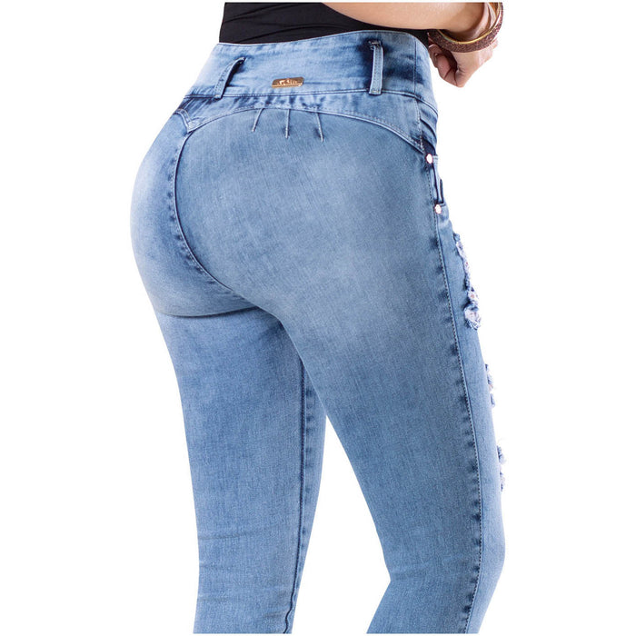 LT.ROSE AS3B2016 Sexy Butt Lifting Skinny Jeans - Pal Negocio